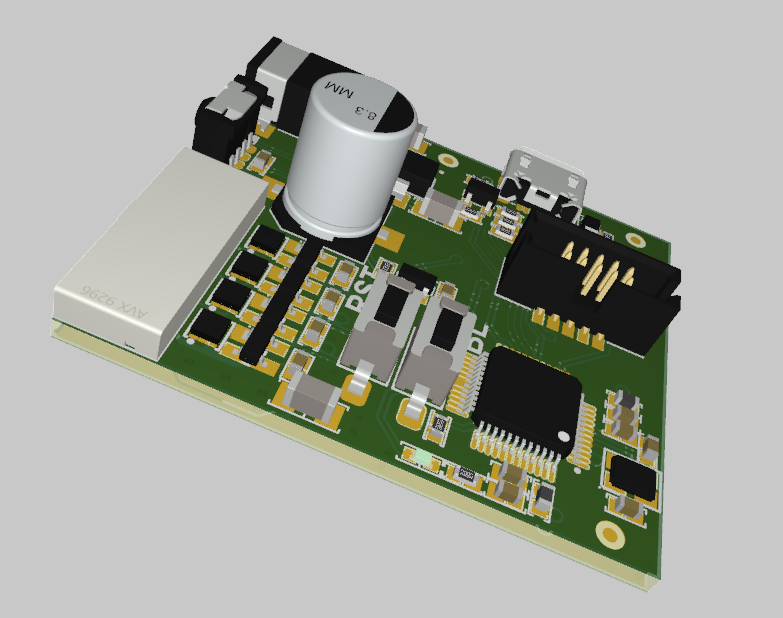 Circuit board for LED PCB design