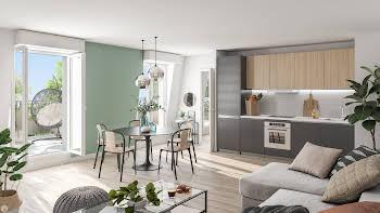 Appartement 4 pièces 91,2 m2