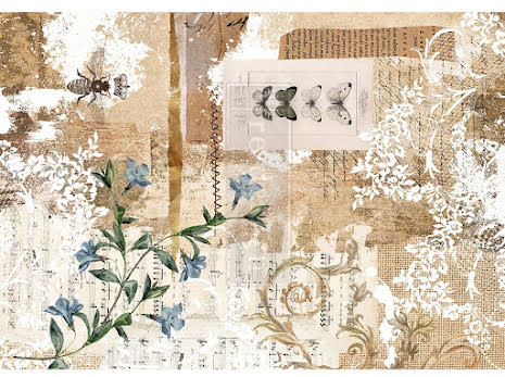 Prima Redesign Rice Paper 11.5X16.25 - Botanical Sonata