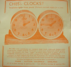 Photo: CHESS No.288  - Mar. 1967  Standard Clock, original version, available again after supply ran out