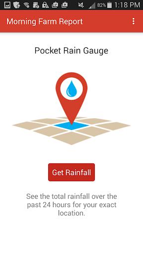 Pocket Rain Gauge