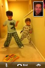 Photo: Boys Dancing on FaceTime