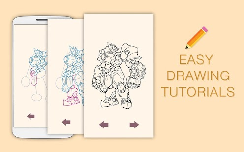 Draw Drawings Box of Heroes Overwatch - náhled