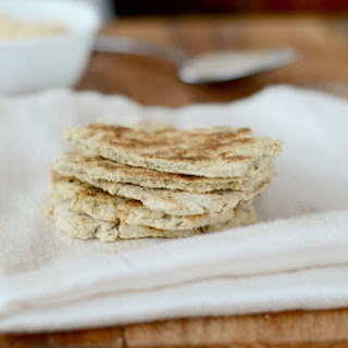Coconut Flour Flatbread - Paleo, Low-Carb, 21DSD
