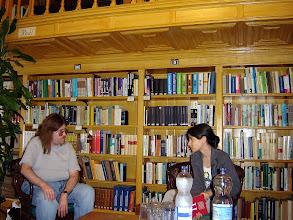 Photo: Szegedtől Szegedig 2008 Rusz Sándor és Túri Tímea beszélget az írásról és a kötetről