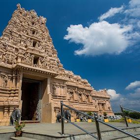 Sri Shakti Devasthanam Temple by Coolvin Tan - Buildings & Architecture Architectural Detail