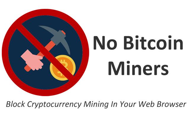No Bitcoin miners