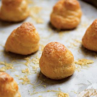 Three-Cheese Gougères