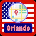 USA Orlando City Maps icon