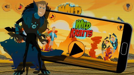 Wild Jungle Kratts Adventure Run - náhled