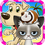Pet Paradise Story- Matching 3 icon