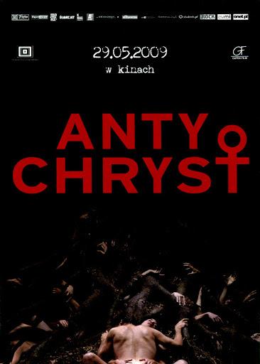 Przód ulotki filmu 'Antychryst'