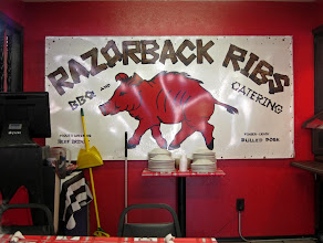Photo: Have you ever been to Yellville Arkansas? Good food at this little place, Razorback Ribs