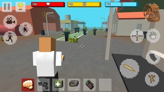 🧟 Zombie Craft Survival 3D: Free Shooting Game Screenshot