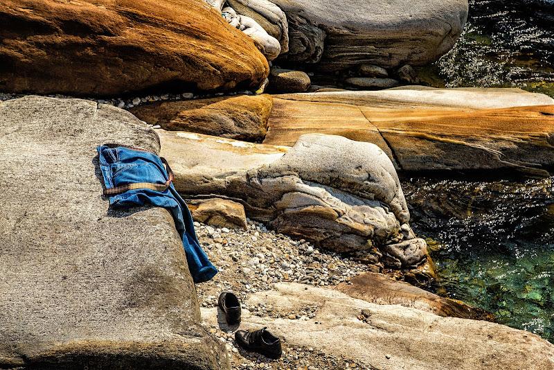 Il fiume...in un caldo pomeriggio di luglio di Sergio Locatelli