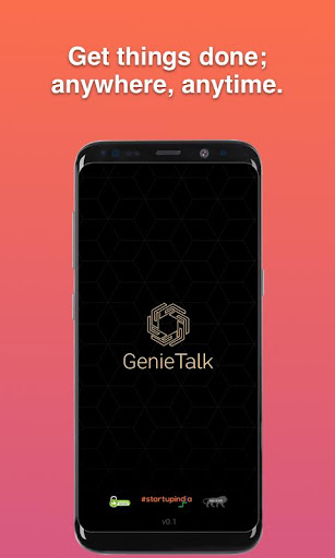 Screenshot for GenieTalk Assistant in United States Play Store