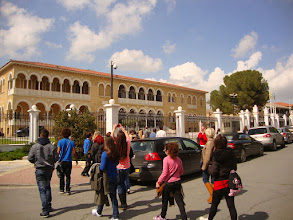 Photo: Archbishop house in old Nicosia