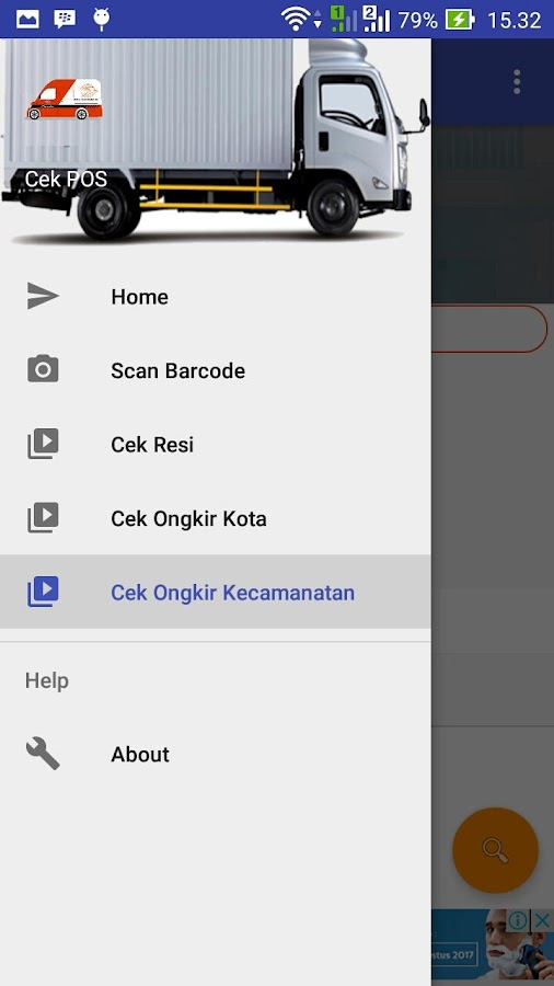Cek POS Indonesia- screenshot