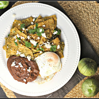 Chilaquiles and Salsa Verde