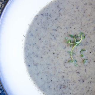 Roasted Mushroom Soup.