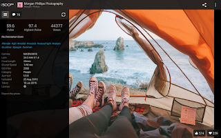 Screenshot of 500px – Discover great photos