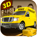 City Mail Delivery Van 2016 icon