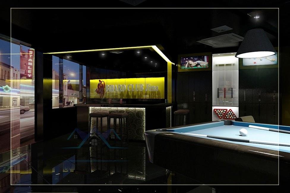 thiết kế câu lạc bộ bida Jima hà nội