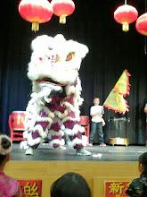 Photo: Lion dance