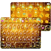 Star Golden Emoji Keyboard
