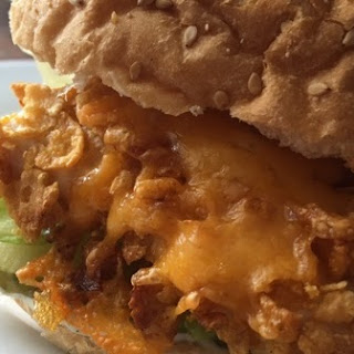 Spicy Crispy Cheesy Chicken Sandwich
