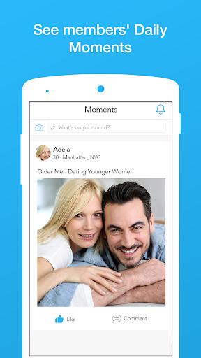 Age Match - Older Men Younger Women Dating App 3.5.1 screenshots 2