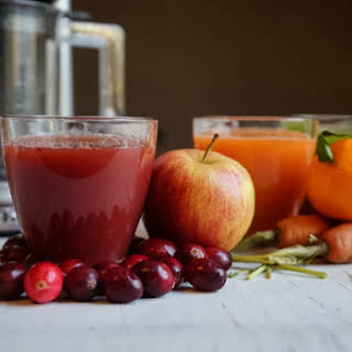 Cranberry Apple Juice.
