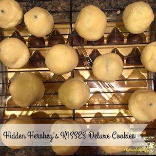 Hidden Hershey's KISSES Deluxe Cookies