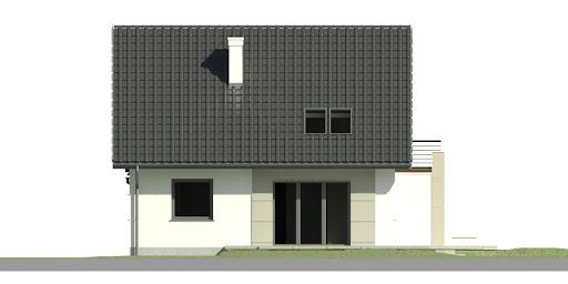 Dom przy Cyprysowej 41 - Elewacja lewa