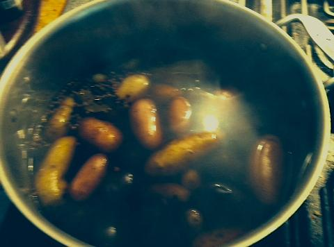 Bring to a boil over high heat. Reduce heat to low and simmer until...