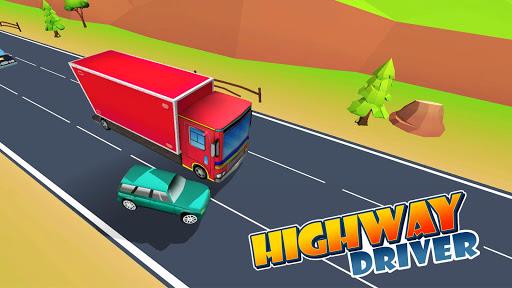 Highway Driver apkpoly screenshots 1