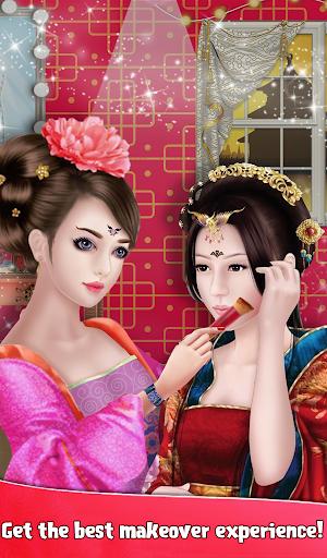 Chinese Girl Fashion Doll Dressup  screenshots 3