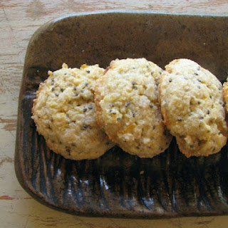 Gluten-free Lemon Chia Cookies.