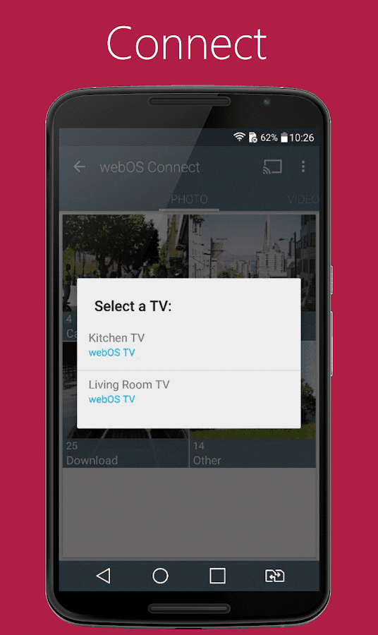 lg webos connect android apps on google play. Black Bedroom Furniture Sets. Home Design Ideas