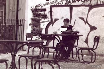 Photo: Scrittore portoghese / Portuguese writer
