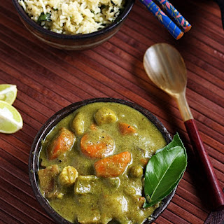 Thai green curry recipe | Vegetarian thai green curry