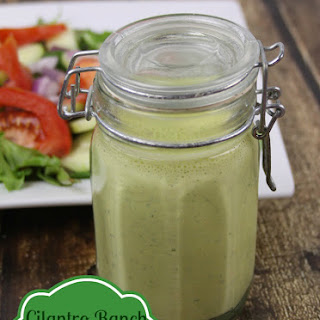 Dairy Free Cilantro Ranch Dressing