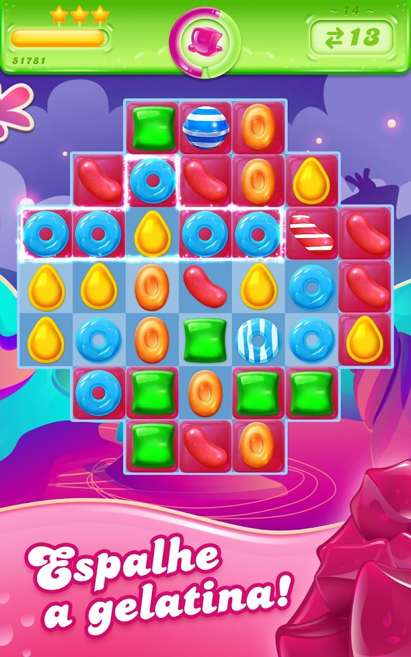 Candy Crush Jelly Saga – APK MOD HACK – Dinheiro Infinito