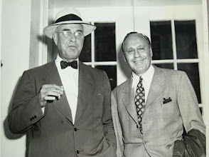 Photo: Governor Gardner and Comedian Jack Benny, Historic Webbley, Shelby, NC, 1939