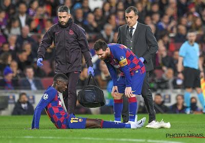 Et en plus, le Barça perd un élément offensif sur blessure