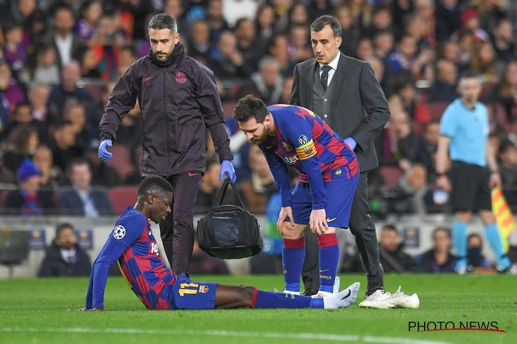 La poisse de Dembélé résumée en une statistique, le Barca à la recherche d'un nouvel attaquant