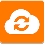Orange Cloud BE Icon