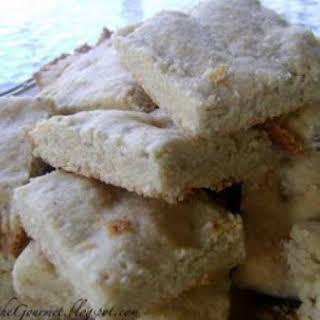 Almond Shortbread Cookies!!!.