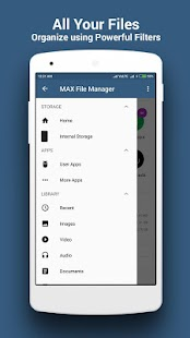 Max File Manage File Explorer - náhled