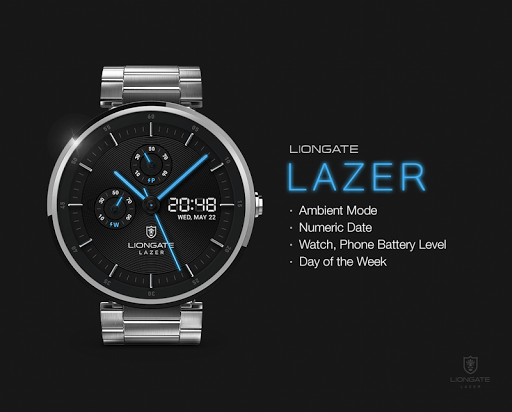 Lazer watchface by Liongate